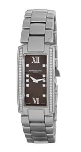 Raymond Weil Ladies Diamond Set Bezel & Dial Interchangeable Strap Watch 00775