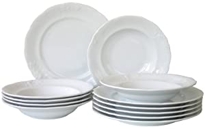 Creatable Frederike Dinner Set, 12 Pieces