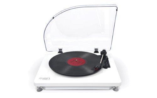 ION AUDIO iT51W Pure LP Plattenspieler (USB) weiß