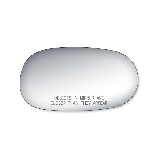 Fit System 90123 Toyota Corolla Passenger Side Replacement Mirror Glass (2001 Toyota Corolla Mirror compare prices)