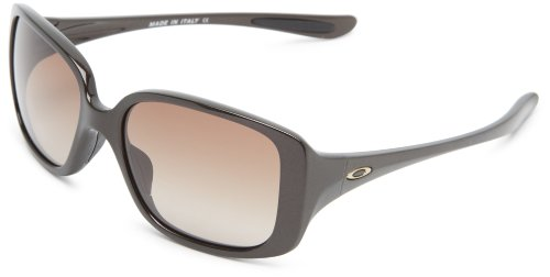 Oakley Little Black Dress OO9193-02 Square Sunglasses, Chocolate Sin, 55mm