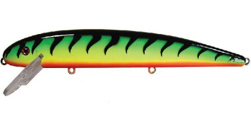 Musky Mania Jake, Fire Tiger, 6-Inch  Best Offer