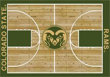 Milliken Colorado State Rams 4 x 5 Colorado State Rams Area Rug