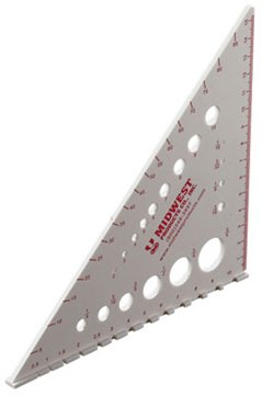 Midwest Products 1137 Square Big Hobby and Craft Tool for Projects - 1