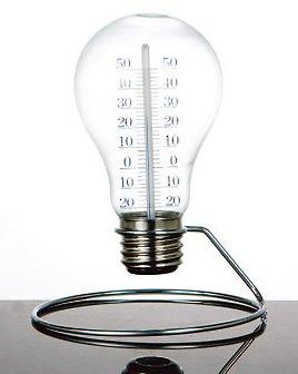 おしゃれな電球型温度計♪【DULTON S056-27 Bulb therm...