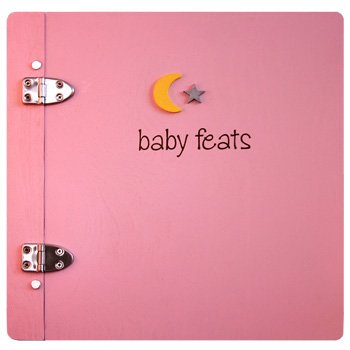 Baby Feats Scrapbook Journal by Jack Scrapbooks - Pink
