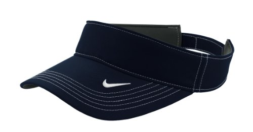 Nike Golf 429466 Adults Dri-FIT Swoosh Visor Navy One Size (Sun Visor Hats Sport compare prices)
