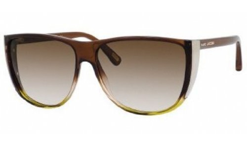 Marc Jacobs Marc Jacobs MJ420/S Sunglasses-0M3J Brown Nude Lime (JD Brown Grad Lens)-60mm