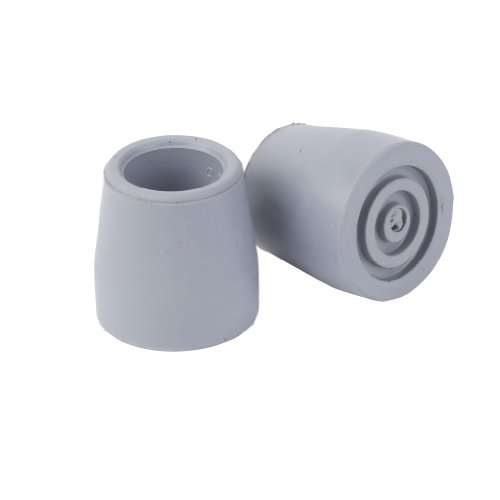 Drive Medical Replacement Utility Tips For Canes, Walkers And Commodes, Grey