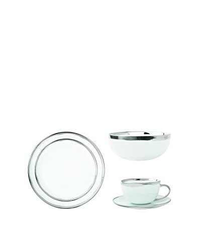 Canvas Home Dauville 5-Piece Dinner Set in Platinum