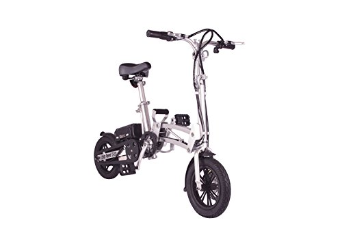 X-Treme Super Folding Electric Bicycle - Silver