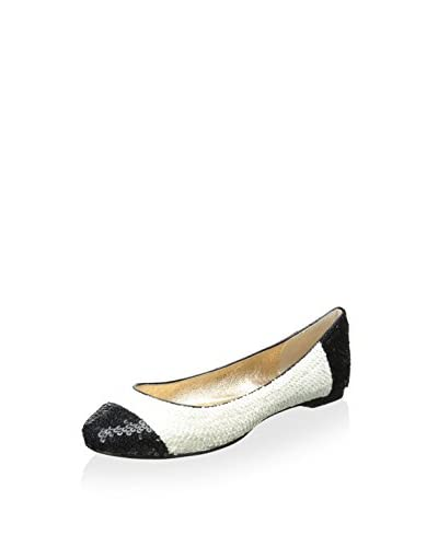 ALL BLACK Women's Sequin Ballet Flat