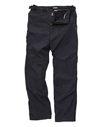Craghoppers Winter Lined Kiwi Trousers - Colour: Navy, Size: 42, Length: Long
