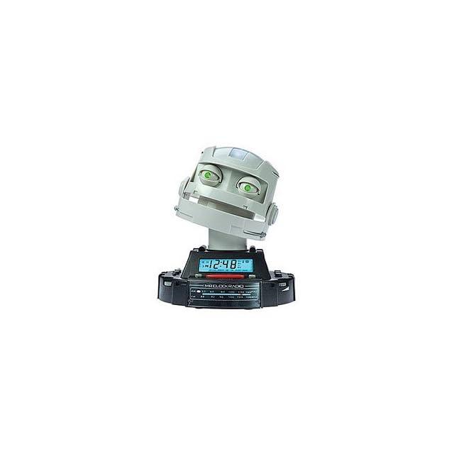 Mr Clock Radio Talking Robotic Clock Radio