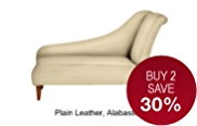 Glamour Chaise (Left-Hand) - Leather