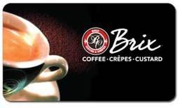 Brix Coffee Gift Card ($10)