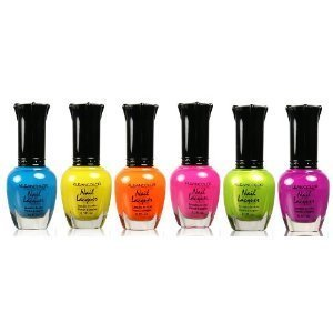 Kleancolor Candy Bar - Neon Nail Lacquer Collection front-63154