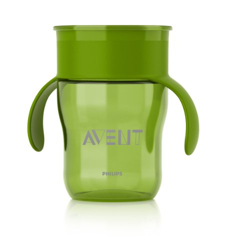 Deal Philips AVENT BPA Free Natural Drinking Cup, Green, 9 Ounce Reviews