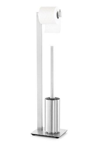 Zack 40382 72.5 cm Linea Toilet Butler Brush, Grey