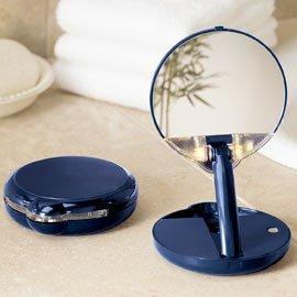 lighted makeup mirror. Black Bedroom Furniture Sets. Home Design Ideas