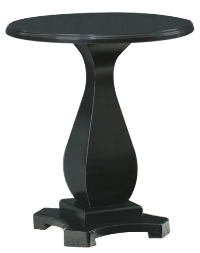 Carolina Cottage Palmer Side Table, Antique Black