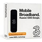 Three Mobile Huawei E353U Prepay 1GB - Black