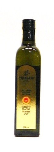 Cipriani Food Colline Teatine Vastese DOP Extra Virgin Olive Oil, 16.9 oz by Cipriani