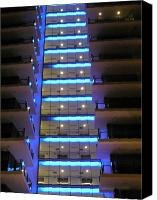 new hotel on the Gold Coast Canvas Print / Canvas Art - Artist Evguenia Men