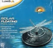 Dragonfly Shaped Lumisol Floating Solar Pool Pond Lights - Pack Of 3