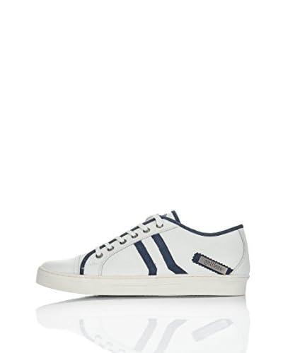 Galliano Sneaker Zip [Bianco/Azzurro]