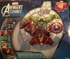 Marvel Avengers Shaped Puzzle