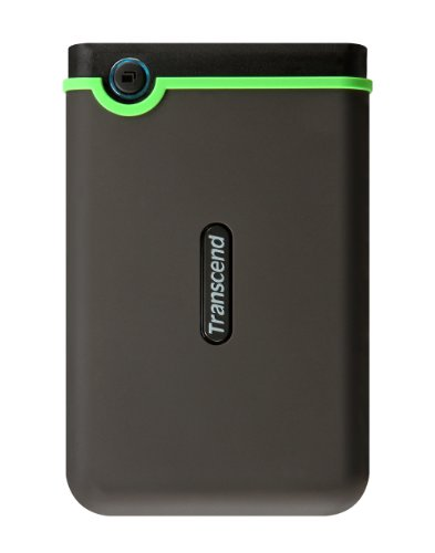 Transcend USB3.0 2.5インチ ポータブルHDD M3シリーズ 640GB 3年保証 TS640GSJ25M3