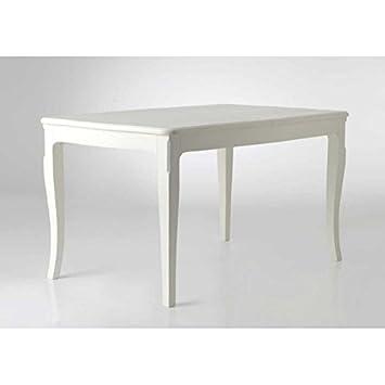 Table 180 cm blanc cassé galbée Hortense