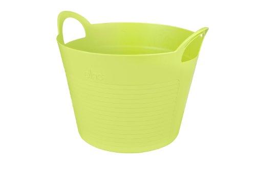 Elho 6623502538300 Vasi Ogni e calce Everyday Robin vasca rotonda M, verde / limone / giallo