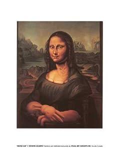 Mona Lisa's Chair, Art Poster by Octavio Ocampo