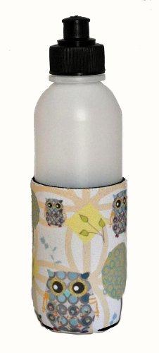 Kidzies Huggerz, Child'S Drink Sippy Cup Bottle Insulator, Owl Design front-291761