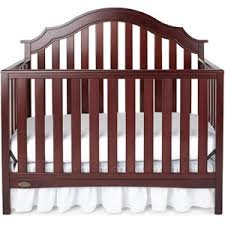 Graco Addison Fixed-Side Convertible Crib, Classic Cherry front-914597
