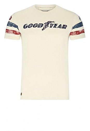 Goodyear T-Shirt Grand Bend, Farbe:vintage sand;Größe:XL
