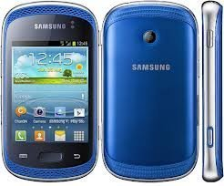 Samsung Galaxy Music DUOS S6012 4Gb Blue WiFi Android GSM Dual SIM Cell
