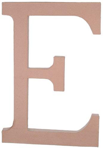 Darice 2860-E Paper Mache, 23.5-Inch, Letter E