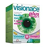 THREE PACKS of Vitabiotics Visionace Plus 56 Tabs/Caps