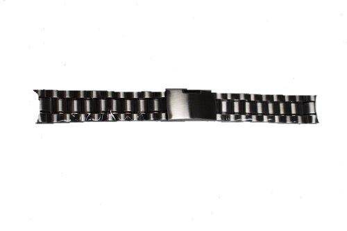 腕時計 18点工具付き 3連無垢バンド 弓冠式 20mm/18mm 時計バンド ユニセックス インポート