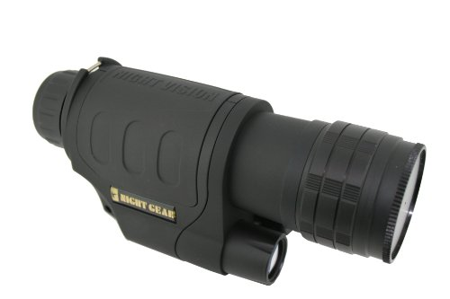 Night Gear X3 3x Waterproof Night Vision Monocular (Black)