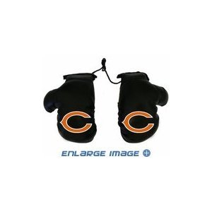 Rearview Mirror Mini Boxing Gloves - NFL Football - Chicago Bears - 1
