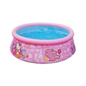 NEW-Easy-Set-Pool-Intex-Swimming-Above-Ground-Hello-Kitty-Inflatable-Kit-Round-Pool