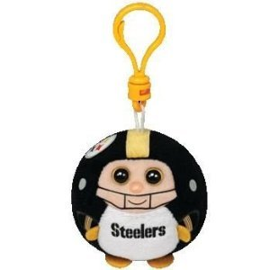 Ty Beanie Ballz Pittsburgh Steelers - Clip