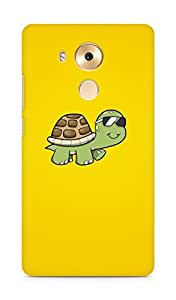 Amez designer printed 3d premium high quality back case cover for Huawei Mate 8 (Cute Tortoise)