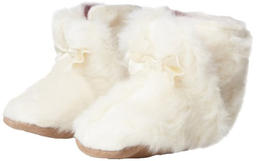 Robeez Shiloh Crib Shoe (Infant/Toddler),Cream,6-12 Months M US Infant Amazon.com