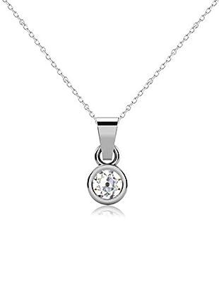 Friendly Diamonds Conjunto de cadena y colgante FDP6241W Oro Blanco