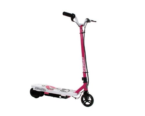 Dynacraft Surge Electric Scooter, Pink/White/Black